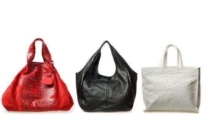 Чебоксары: Скидка на модные итальянские сумки ERBA из натуральной кожи...