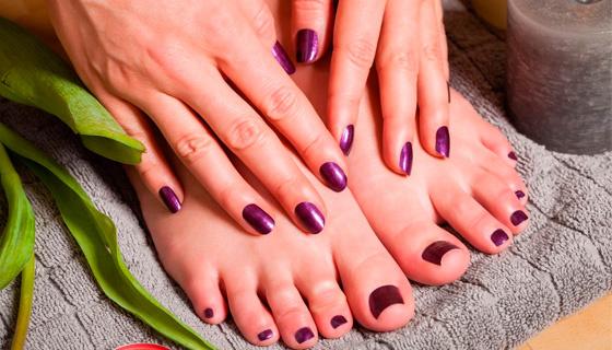 Модные покрытие ногтей фото