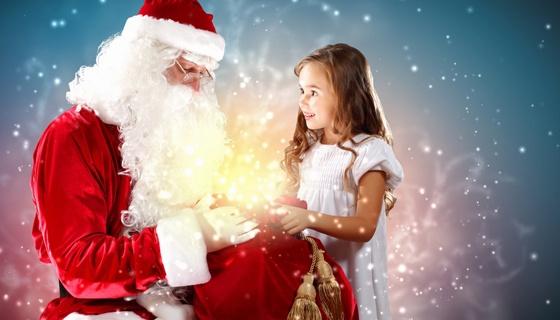 Новогоднее чудо поздравление деда мороза