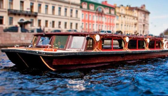 питер лодки по каналам