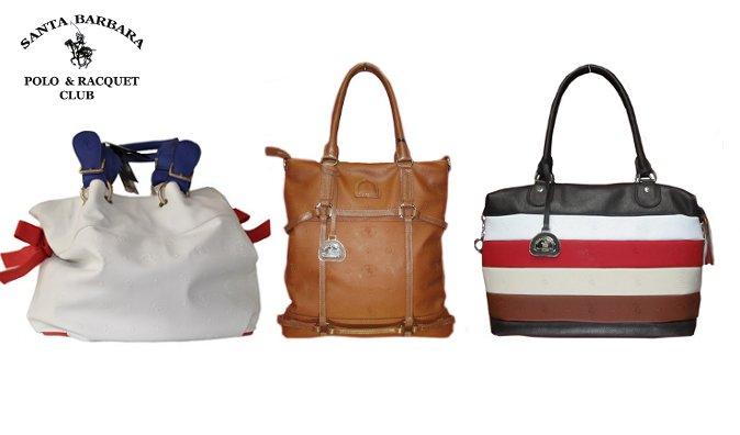 Купон.  Скидки до 50% на американские сумки Santa Barbara.