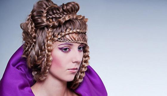Прически с косами фото мастер класс