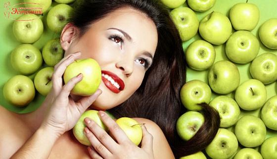 Маски для лица в домашних условиях с яблоком